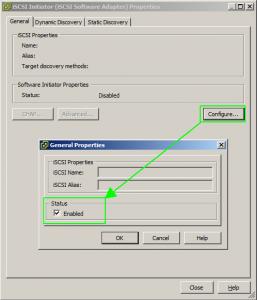 Abilirtazione iSCSI Adapter